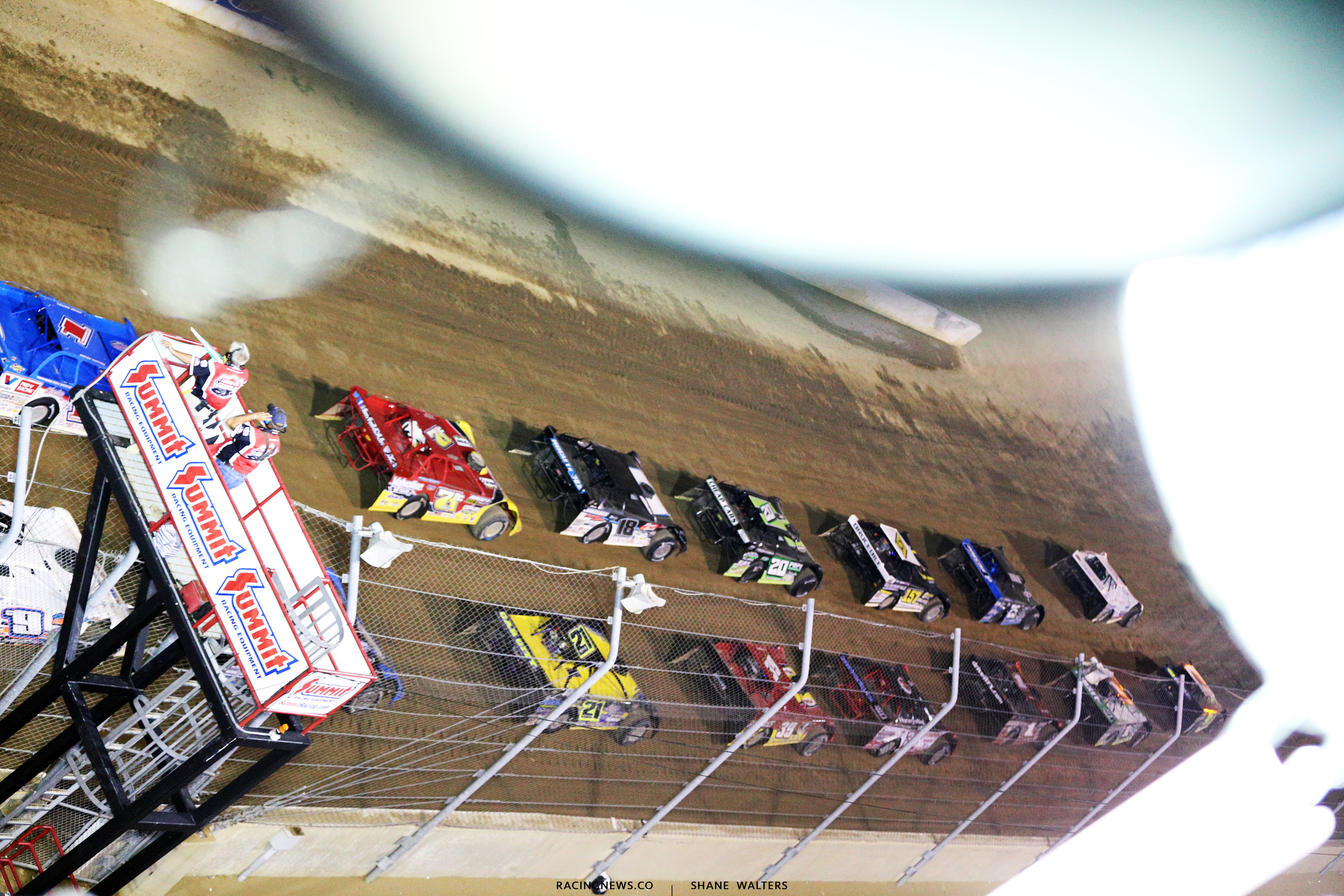 Dirt Late Models at Mansfield Motor Speedway 6099
