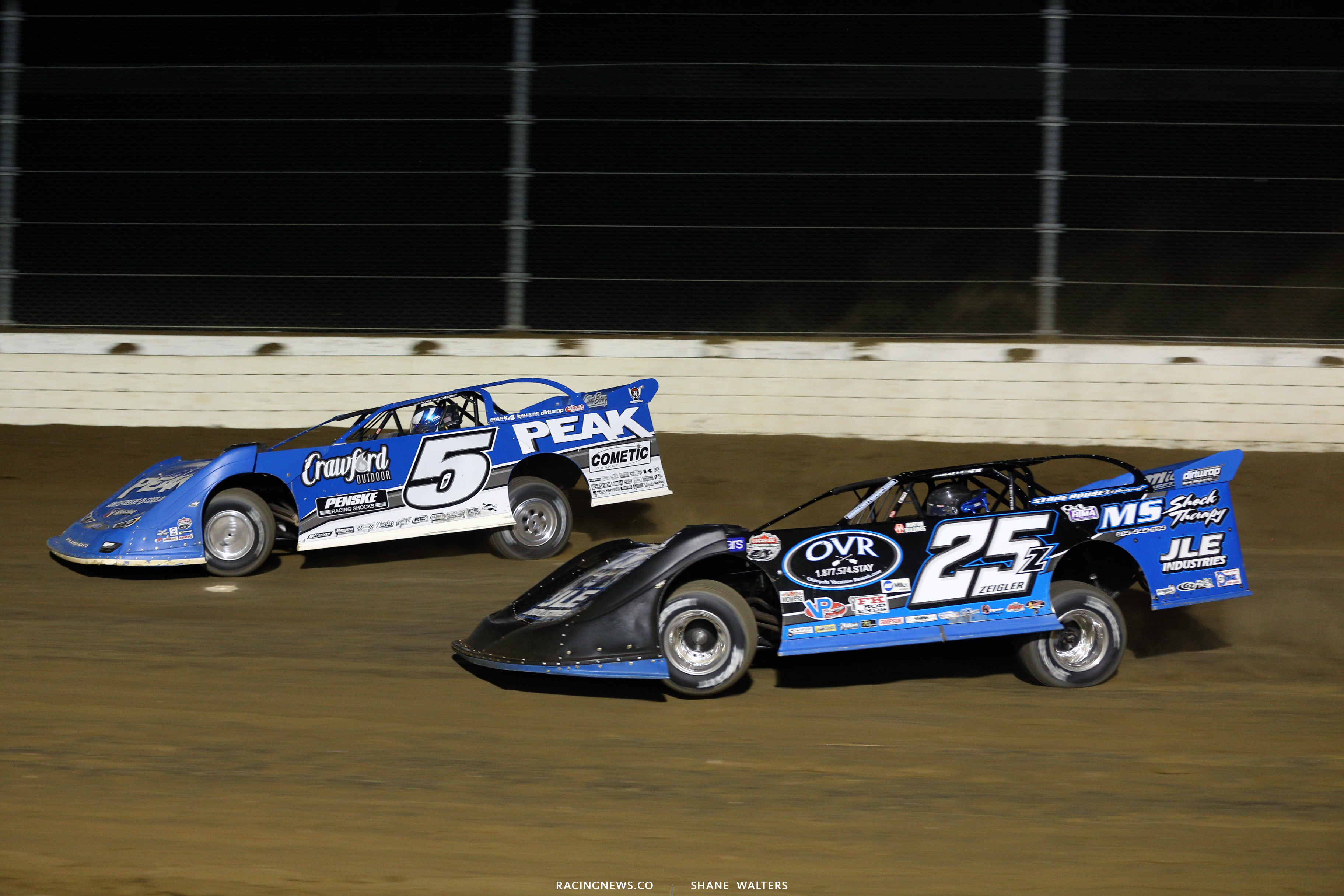 Don O'Neal and Mason Zeigler in the Dirt Million 6498