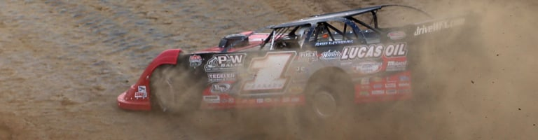 Earl Pearson Jr and the team adjusted their way to the Dirt Million win with 5 pit stops