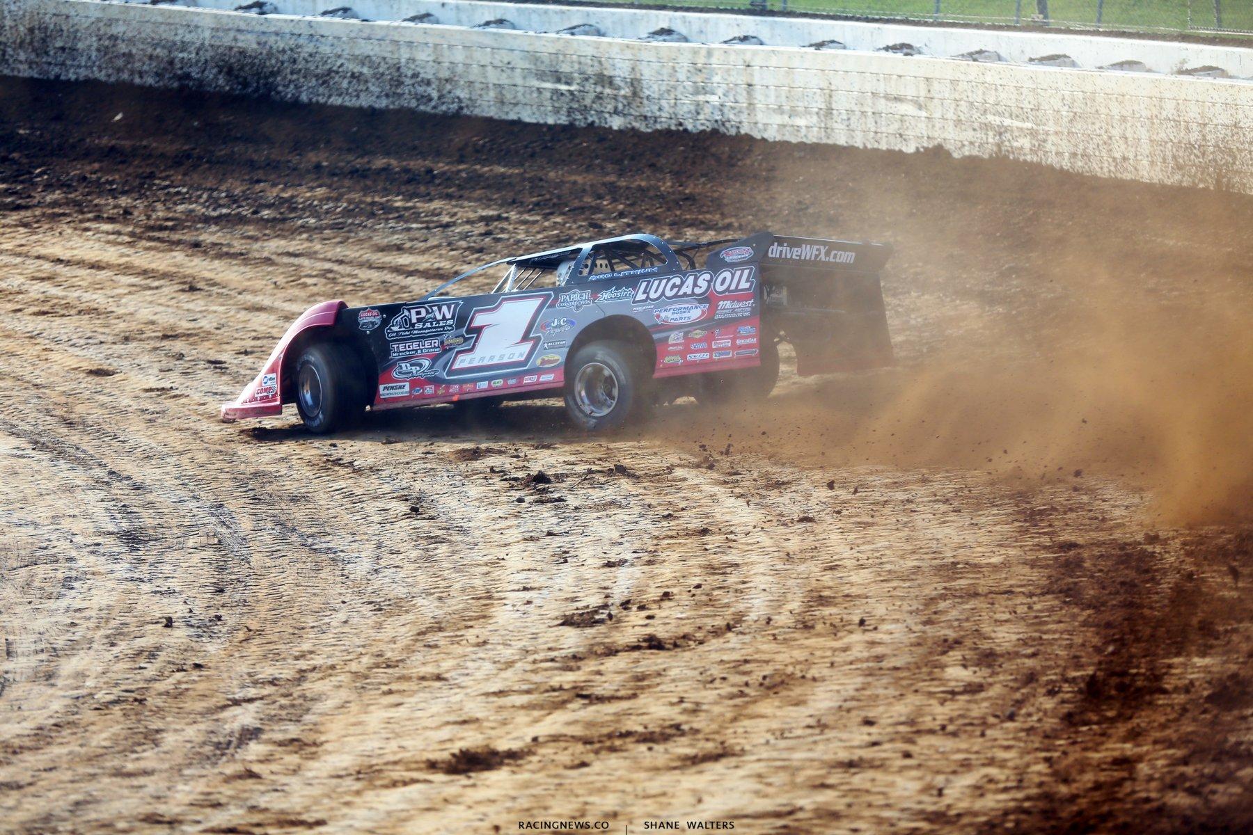 Earl Pearson Jr at Mansfield Motor Speedway