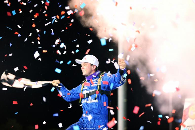 Hudson O'Neal wins at Florence Speedway 4861