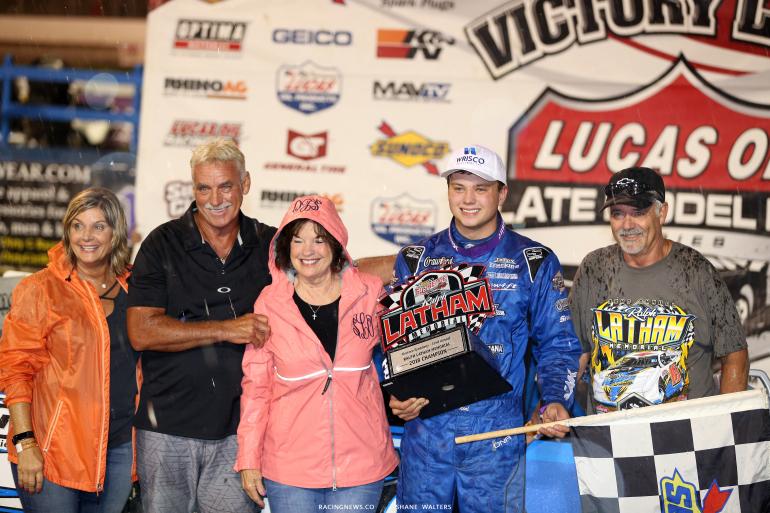 Hudson O'Neal wins at Florence Speedway 4867