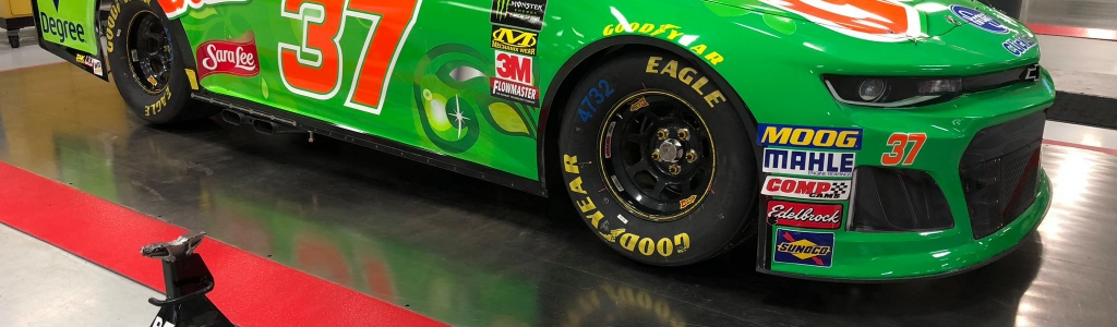 NASCAR issued a memo on black fender pieces designed to trick inspection scans