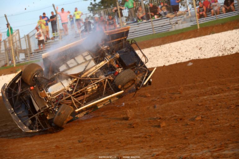 Jason Jameson - Florence Speedway crash 4726