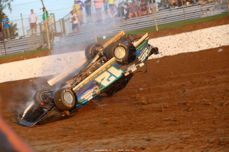 Jason Jameson - Florence Speedway crash photos 4727