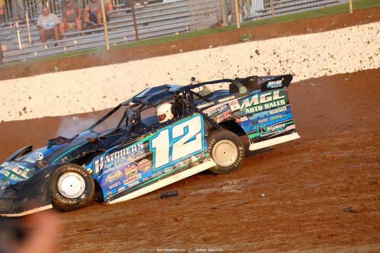 Jason Jameson Racing crash 4736