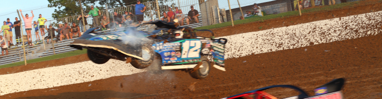 Jason Jameson rollover crash sequence photos