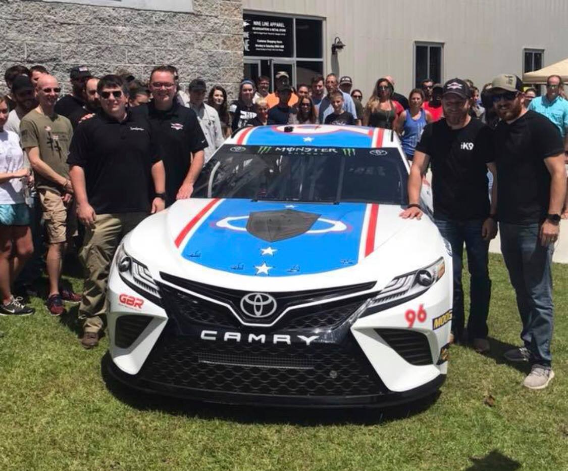 Jeffrey Earnhardt - 2018 Darlington Raceway paint scheme