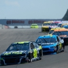 Jimmie Johnson and Michael McDowell at Watkins Glen International