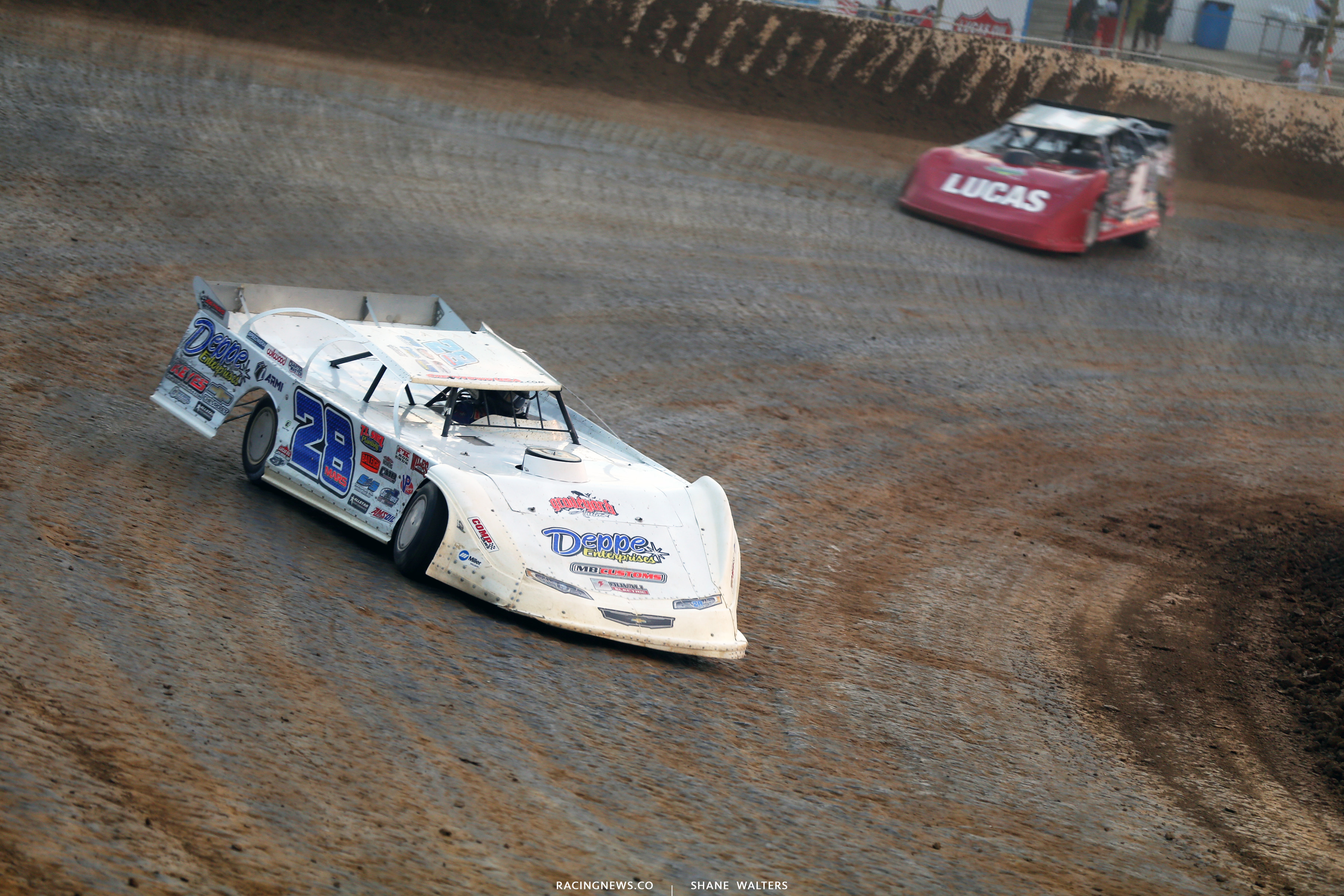 Jimmy Mars at Florence Speedway 5516
