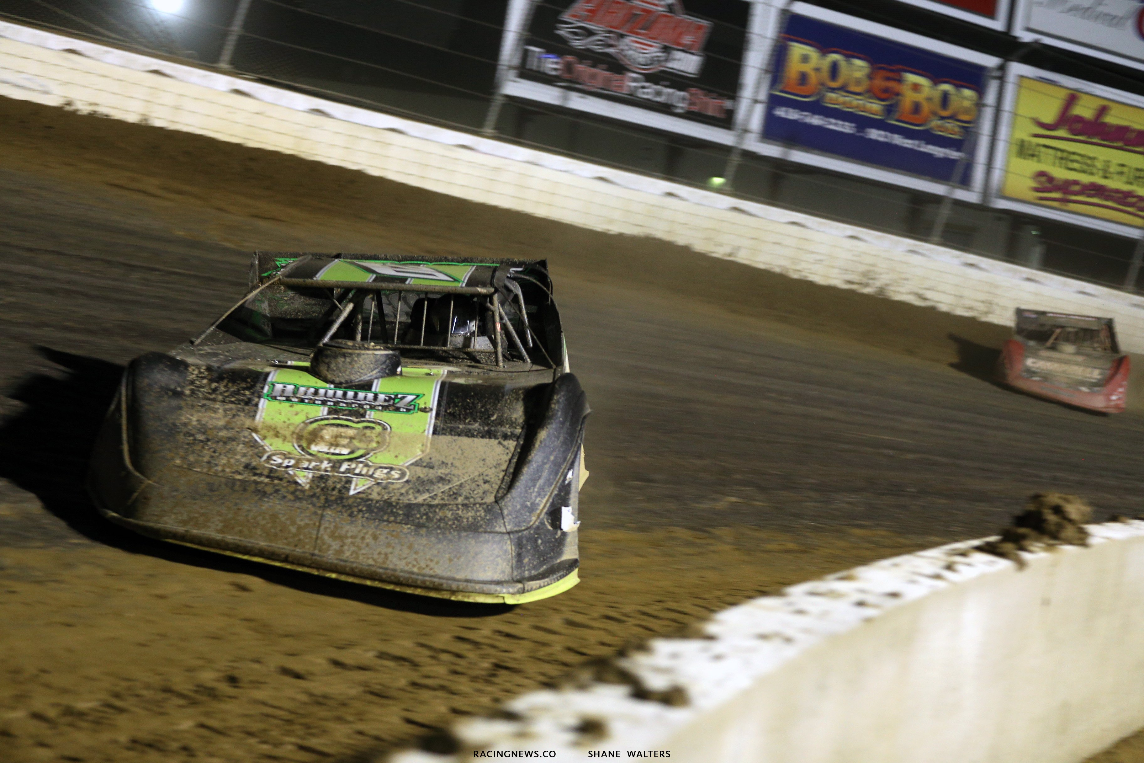Jimmy Owens at Mansfield Motor Speedway