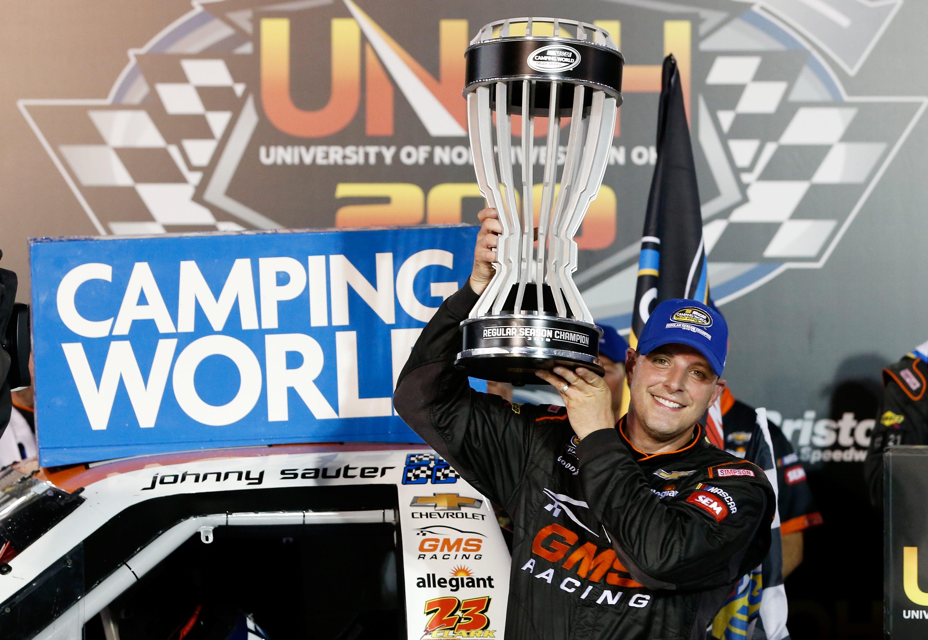 Johnny Sauter wins 2018 NASCAR Truck Series regular season championship