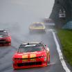 Justin Allgaier in the rain at Watkins Glen International