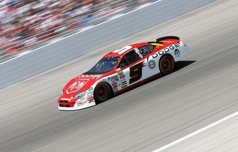 Kasey Kahne on track at Texas Motor Speedway - April 2006