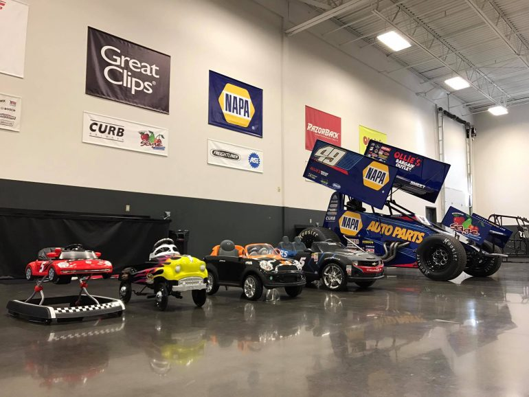 Kasey Kahne Racing - Tanner's cars