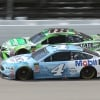 Kevin Harvick and Kyle Busch at Michigan International Speedway