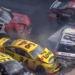Kyle Busch loses rear bumper cover at Bristol Motor Speedway