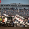 Kyle Larson at Knoxville Raceway