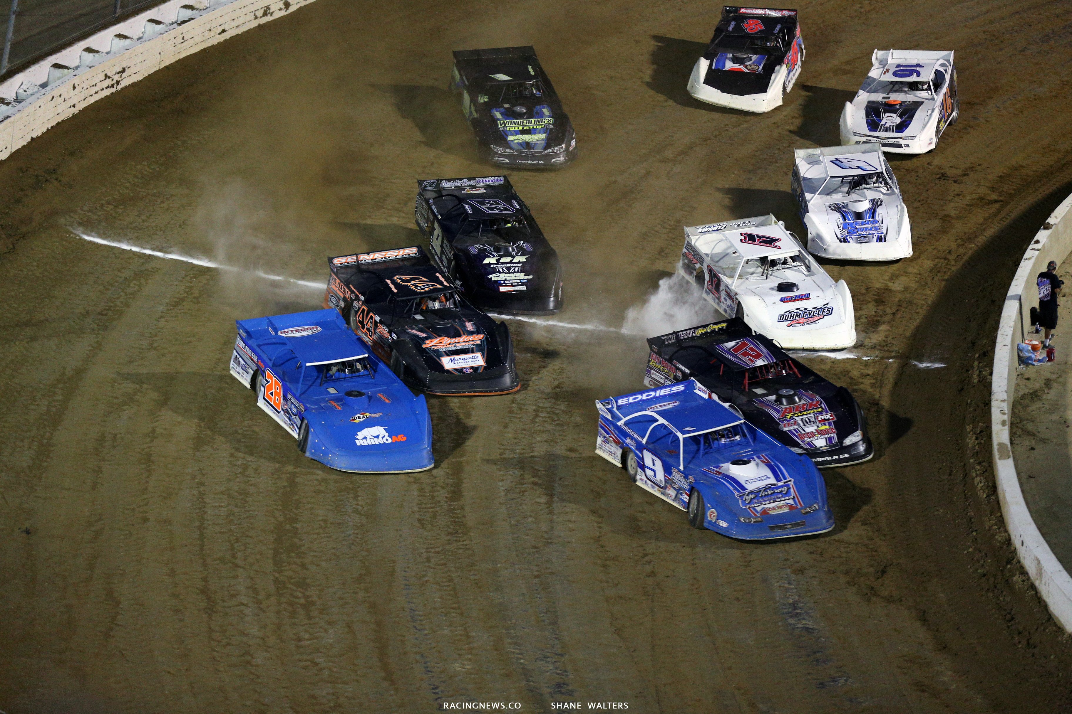Lucas Oil Late Model Dirt Series at Mansfield Motor Speedway 6024