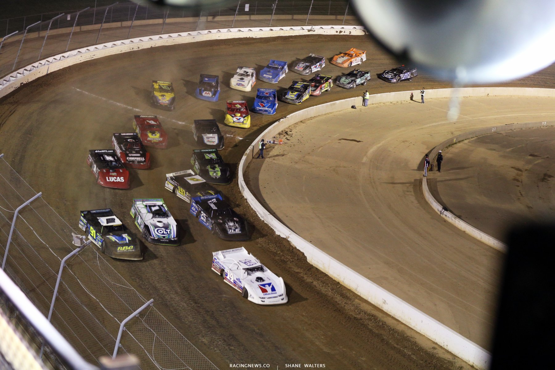 Lucas Oil Late Models at Mansfield Motor Speedway 6110