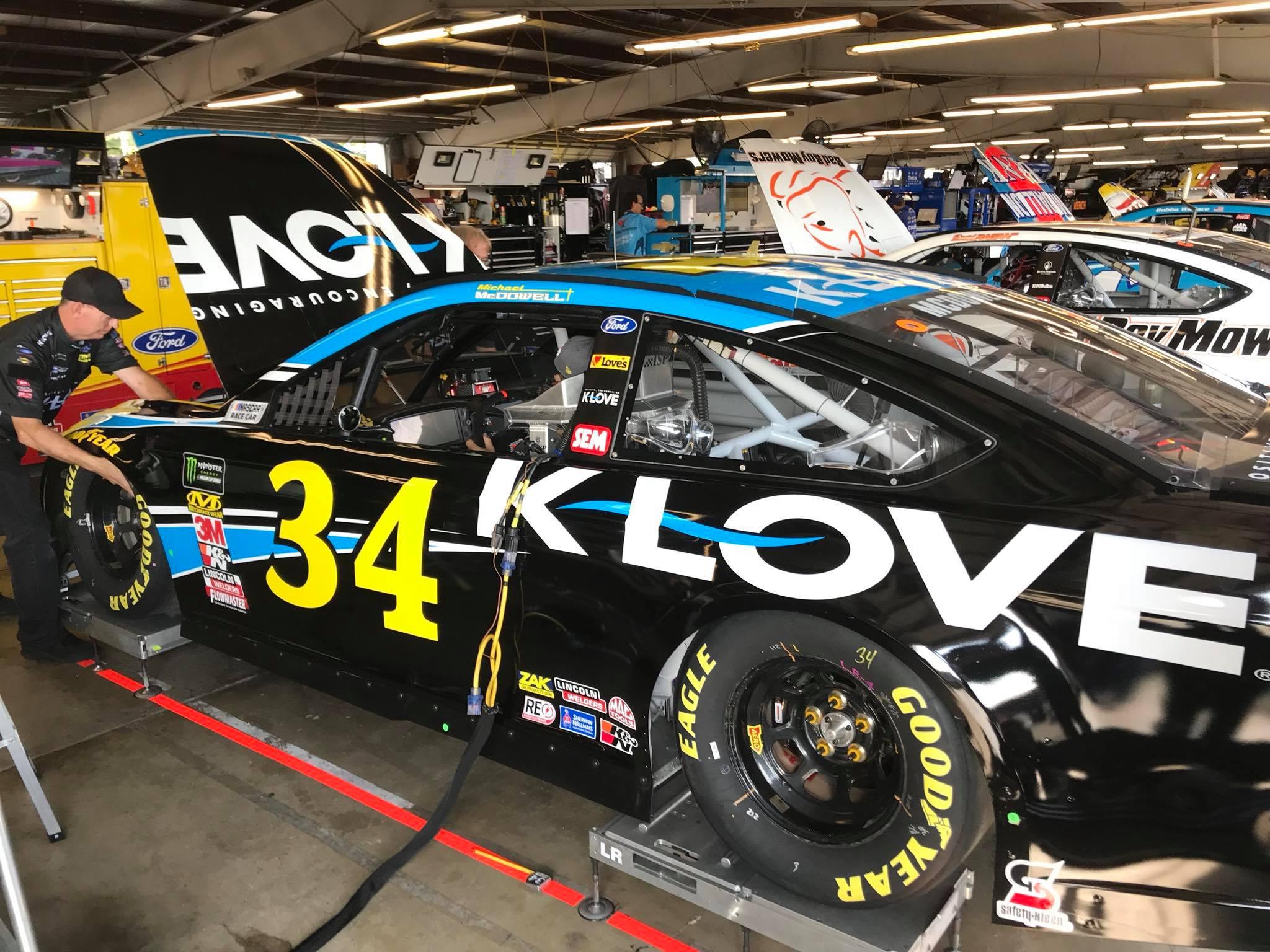 Michael McDowell - Front Row Motorsports