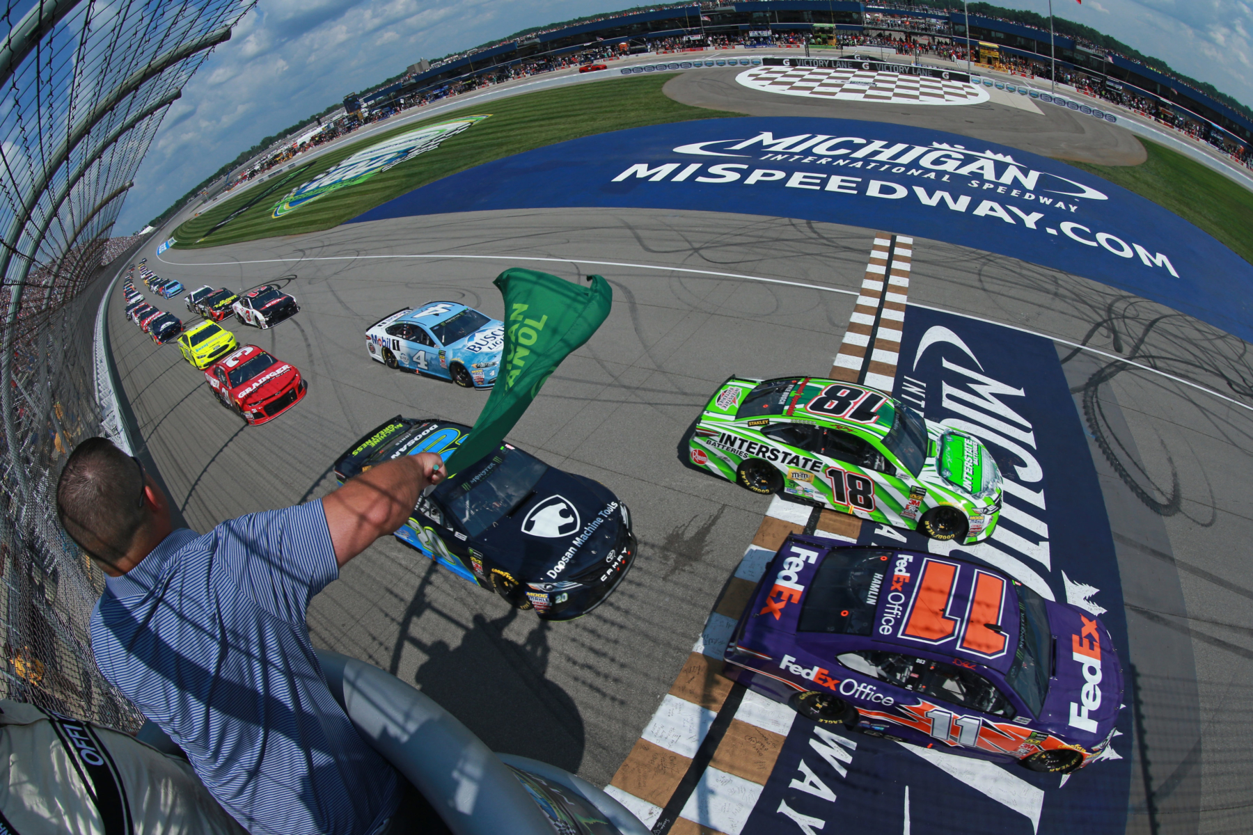 NASCAR Cup Series at Michigan International Speedway
