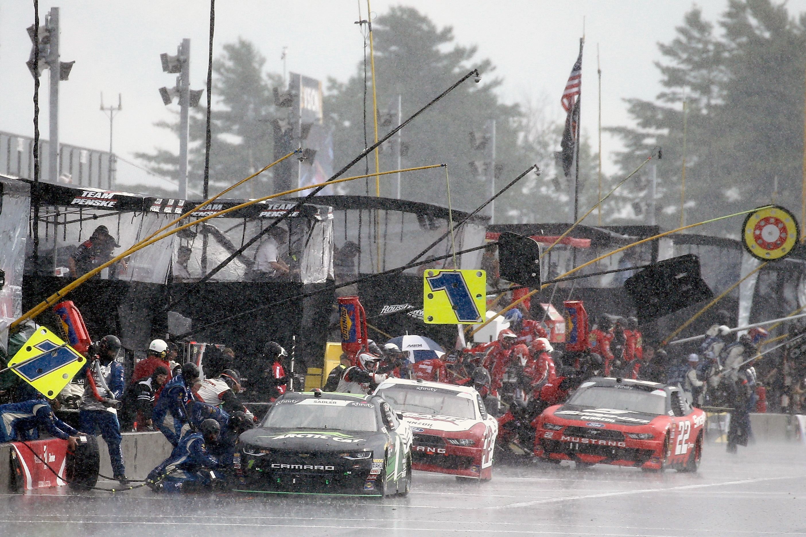 NASCAR rain tires - Watkins Glen International