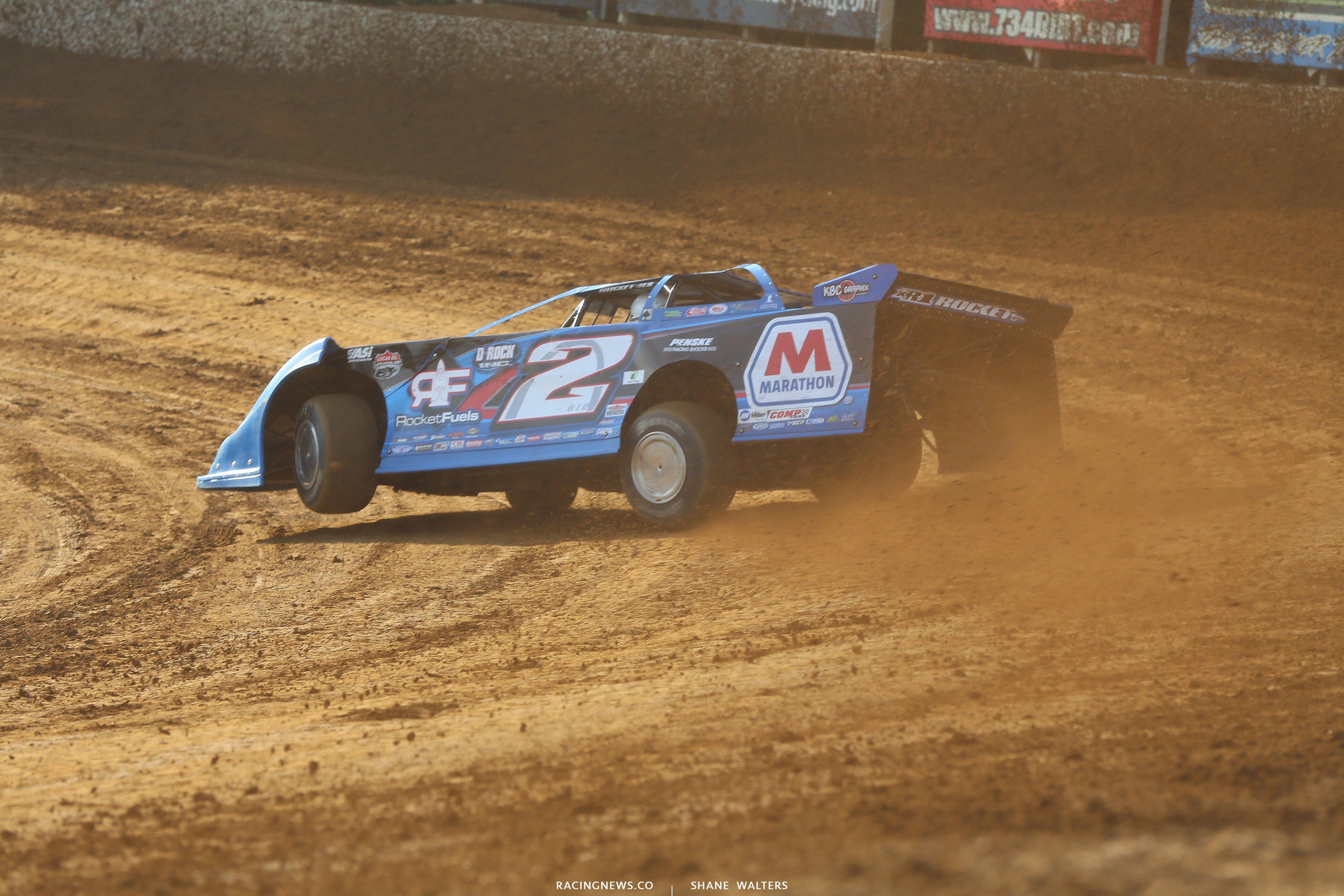 Nick Hoffman at Florence Speedway