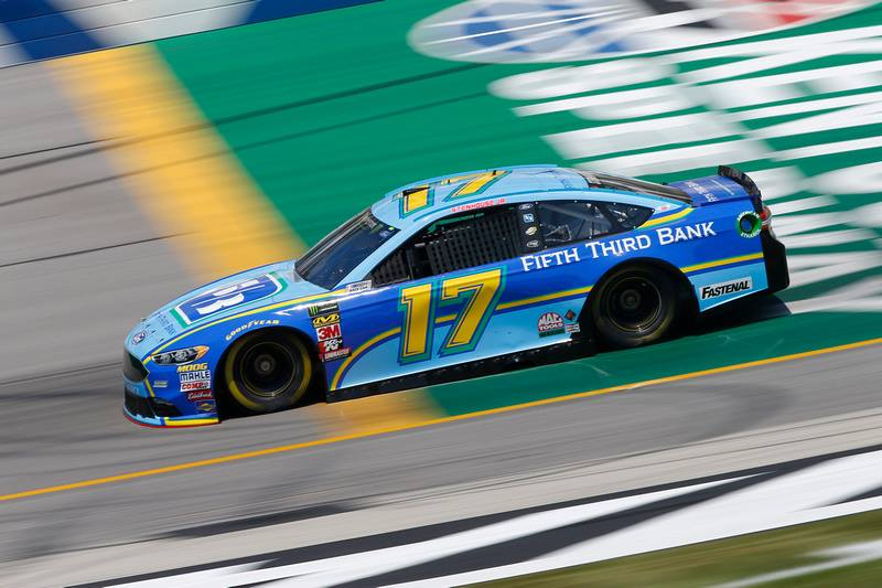 Ricky Stenhouse Jr - Black fender stripes