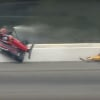 Robert Wickens crash