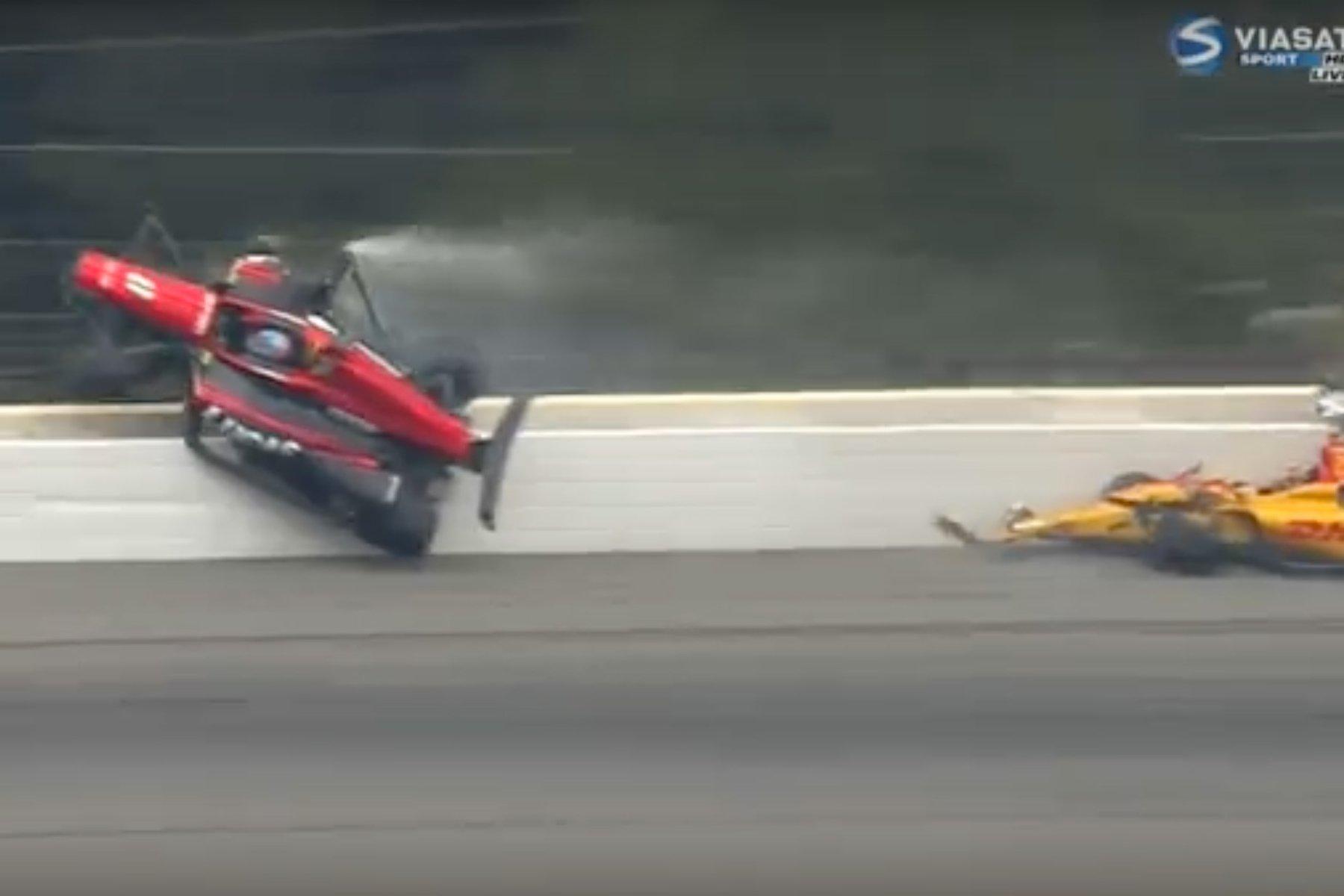 Indy Race Car Crash Videos