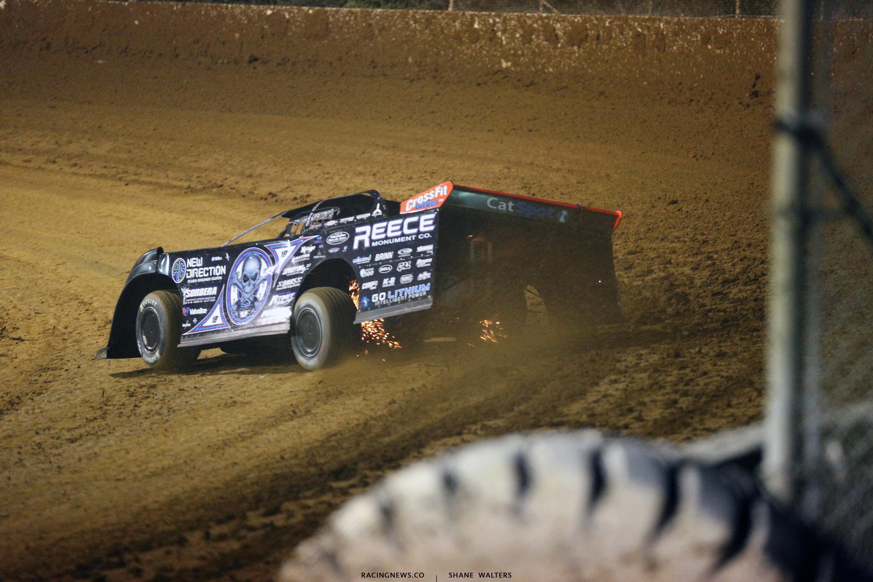 Scott Bloomquist at Florence Speedway 5625