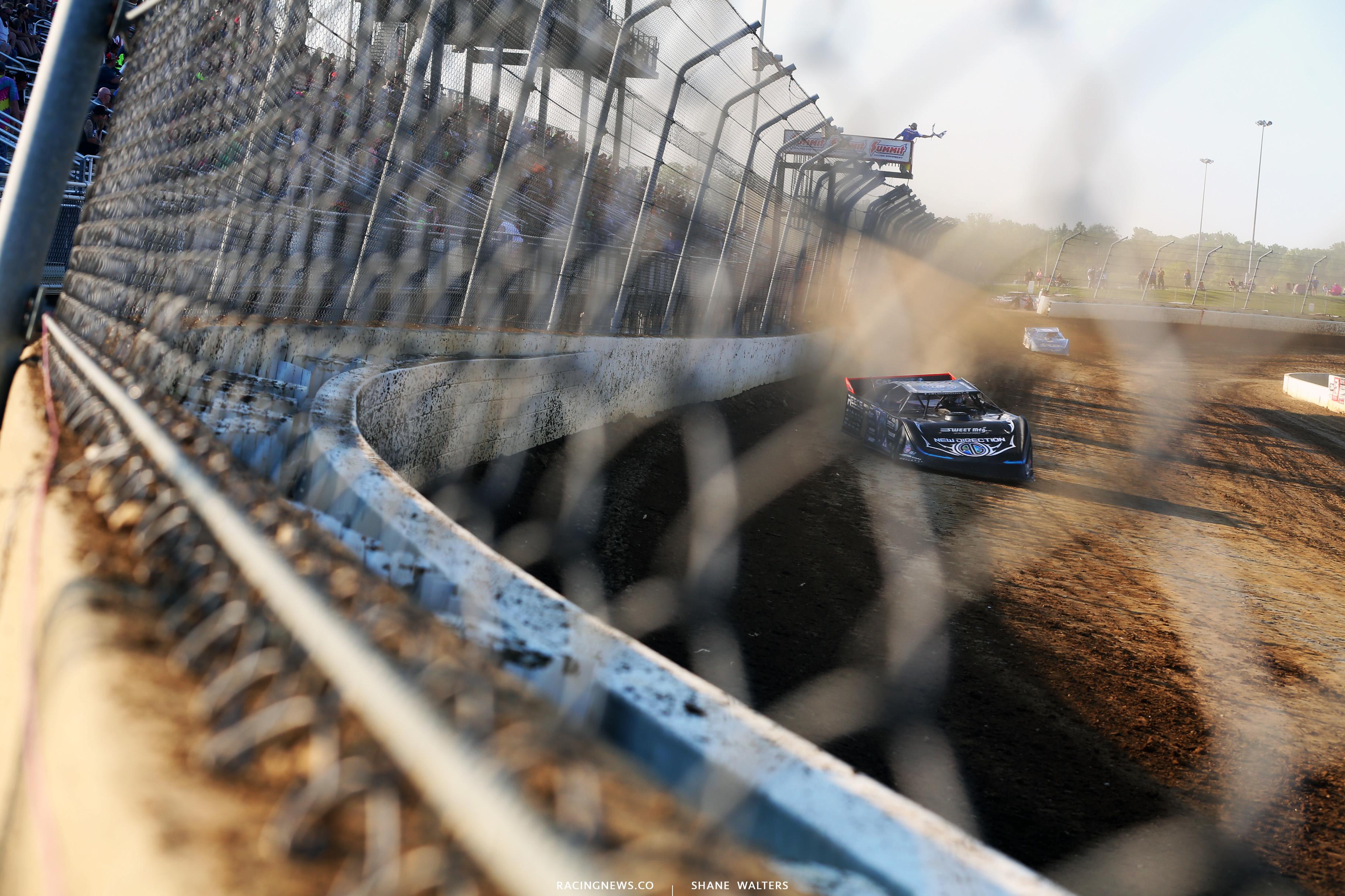 Scott Bloomquist at Mansfield Motor Speedway