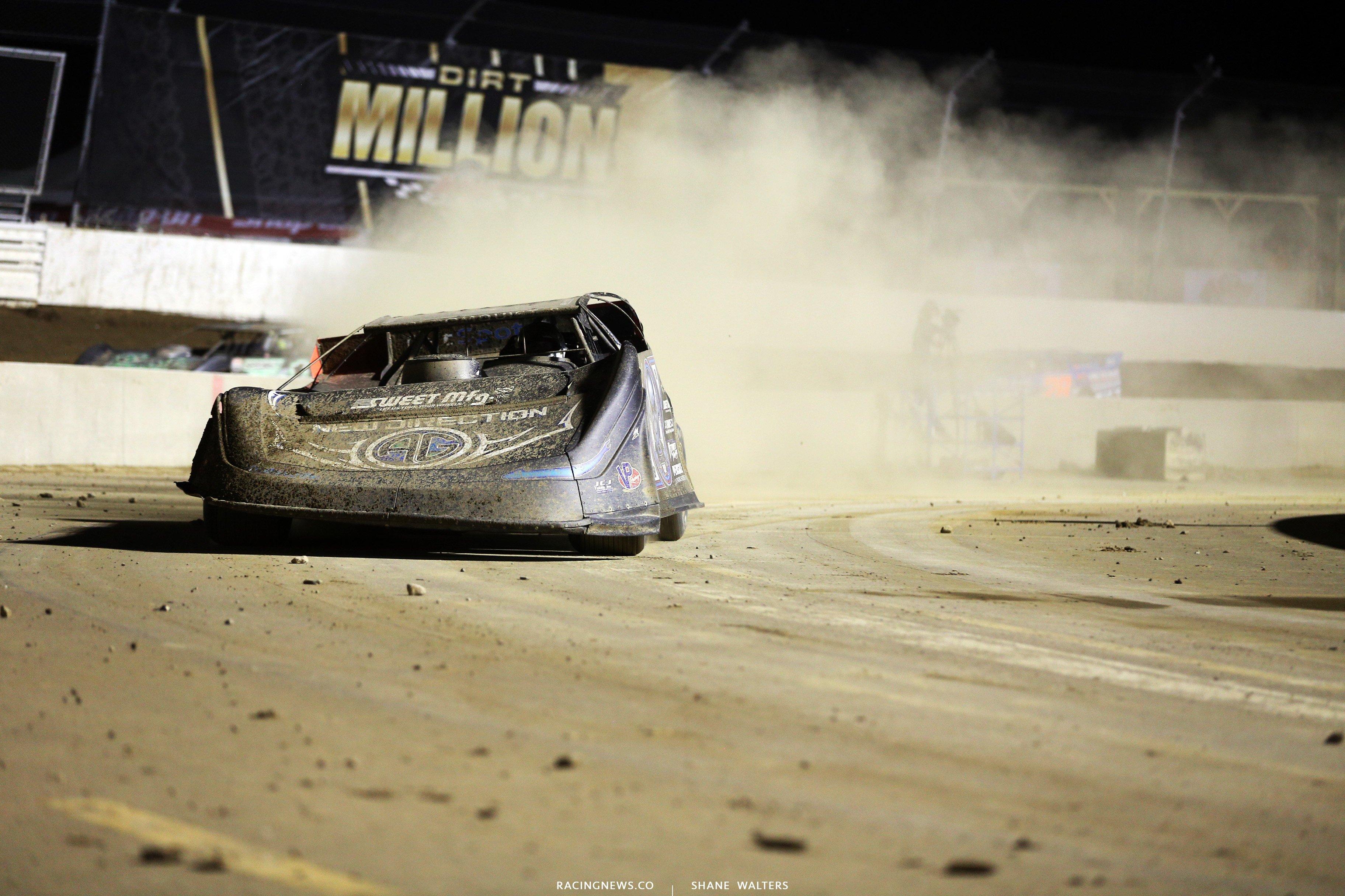 Scott Bloomquist at Mansfield Motor Speedway 6604