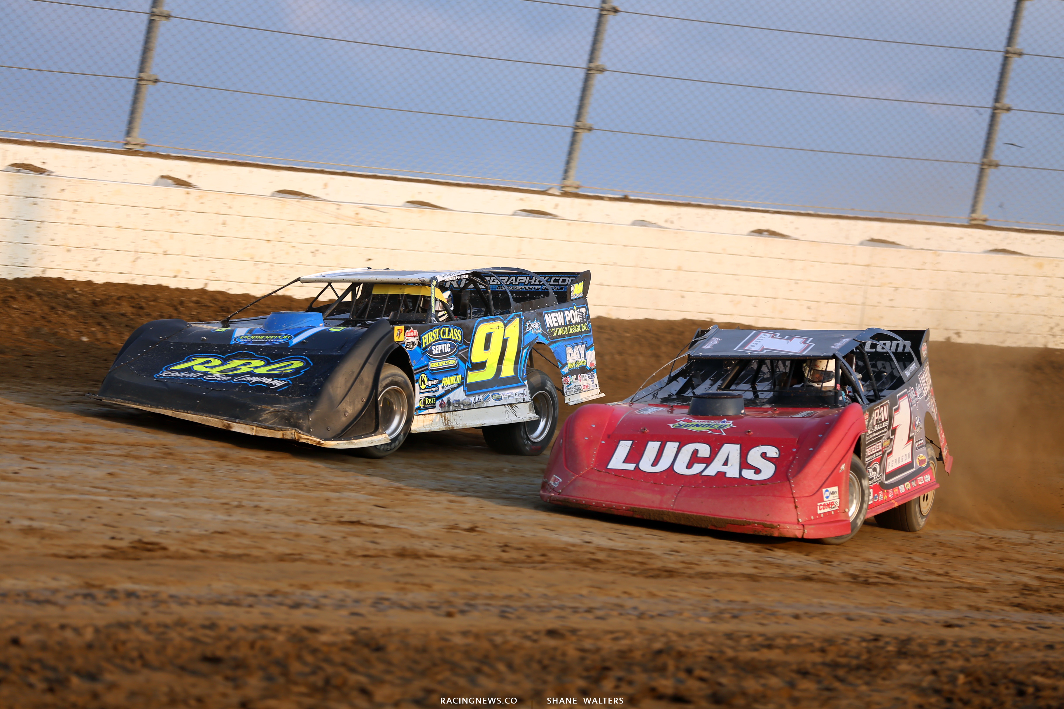 Tyler Erb and Earl Pearson Jr in the 2018 Dirt Million 6319