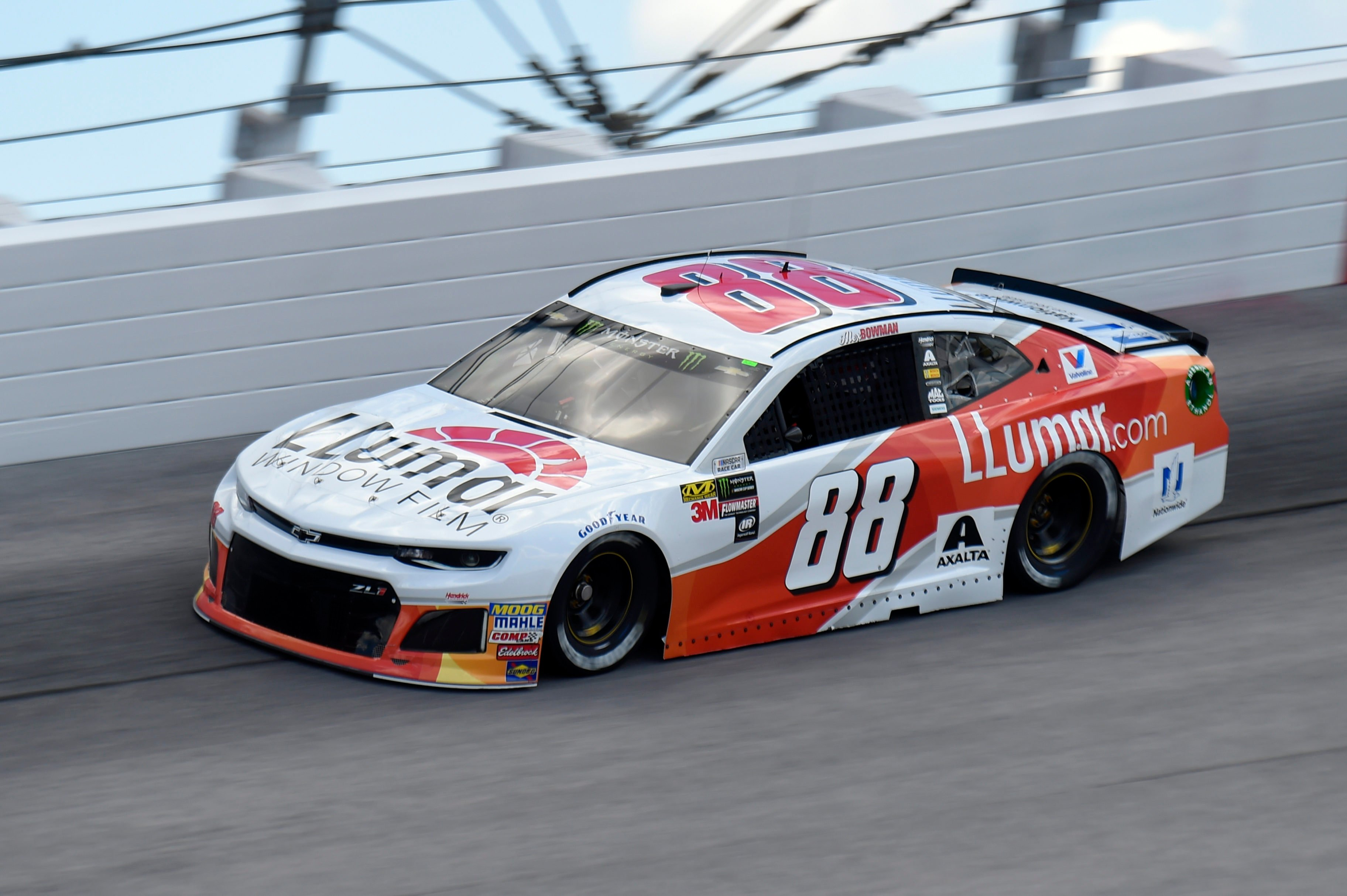 Alex Bowman - 2018 Darlington Raceway throwback