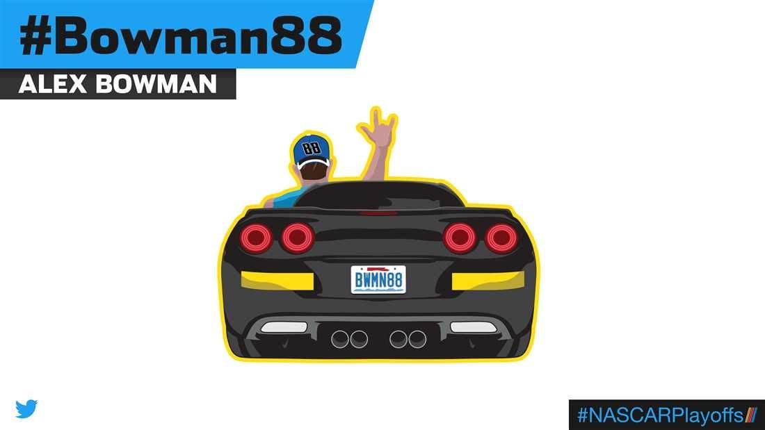 Alex Bowman Emoji - Bowman88