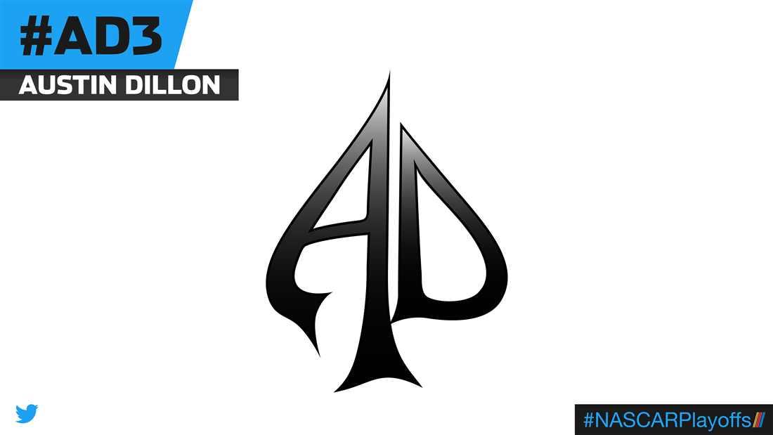 Austin Dillon emoji - AD3