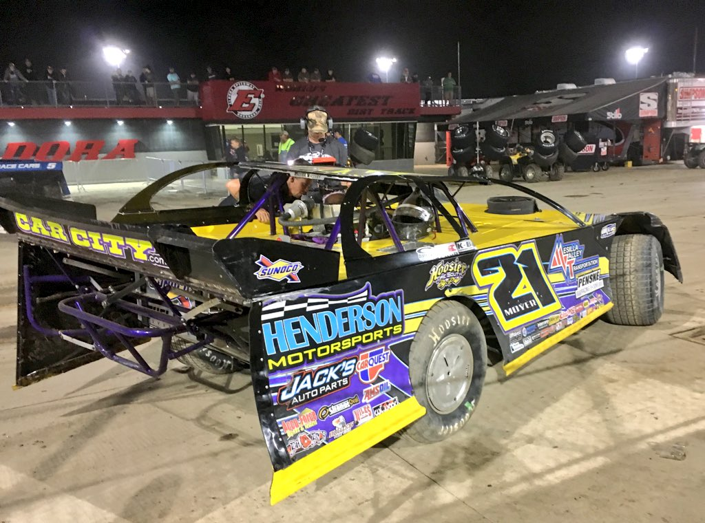 Billy Moyer wins at Eldora Speedway