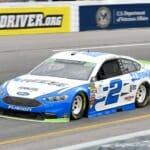 Brad Keselowski at Richmond Raceway