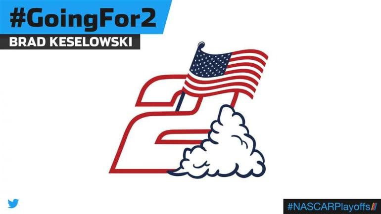 Brad Keselowski emoji - GoingFor2