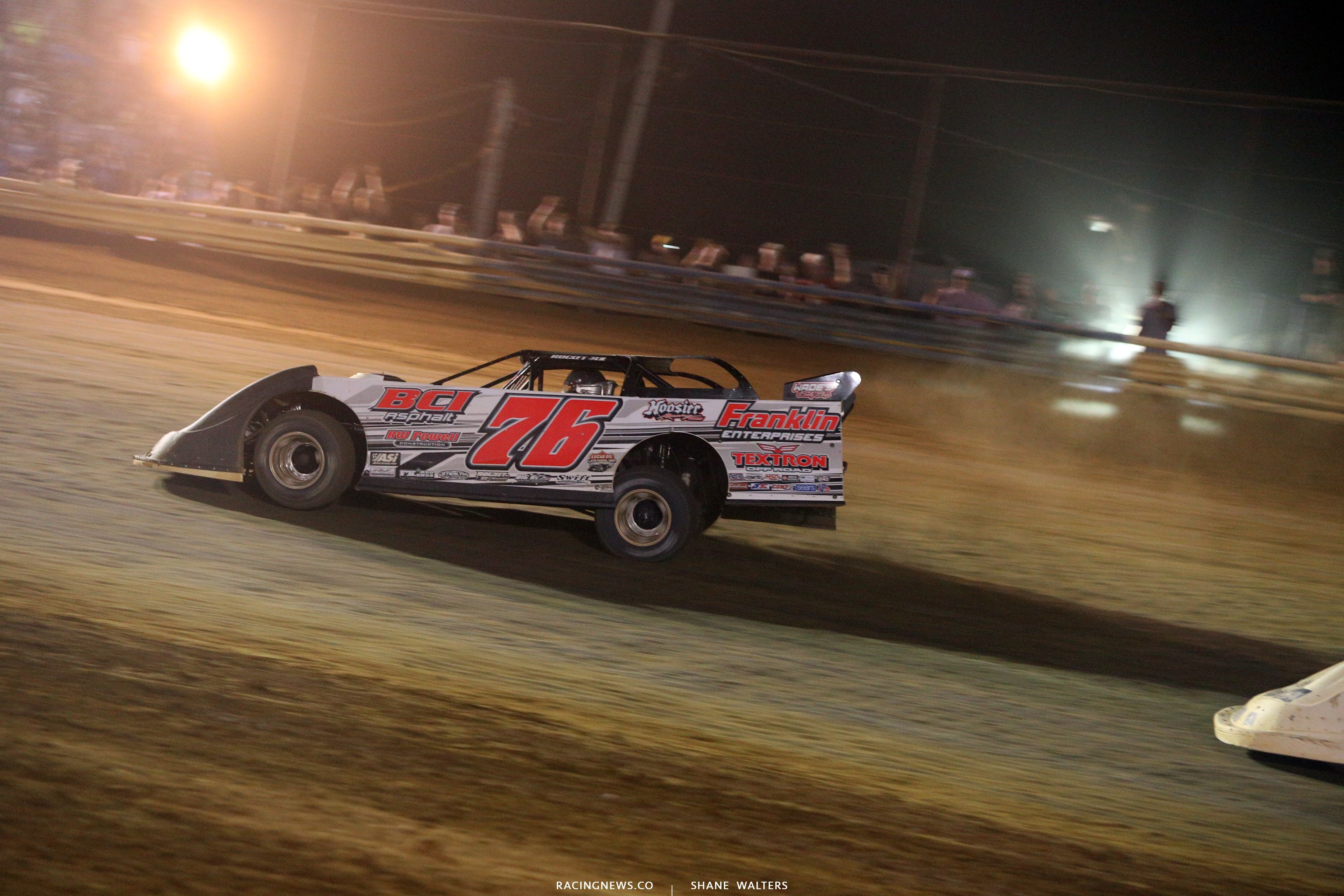 Brandon Overton wins the 2018 Hillbilly 100 at Tyler County Speedway 8115