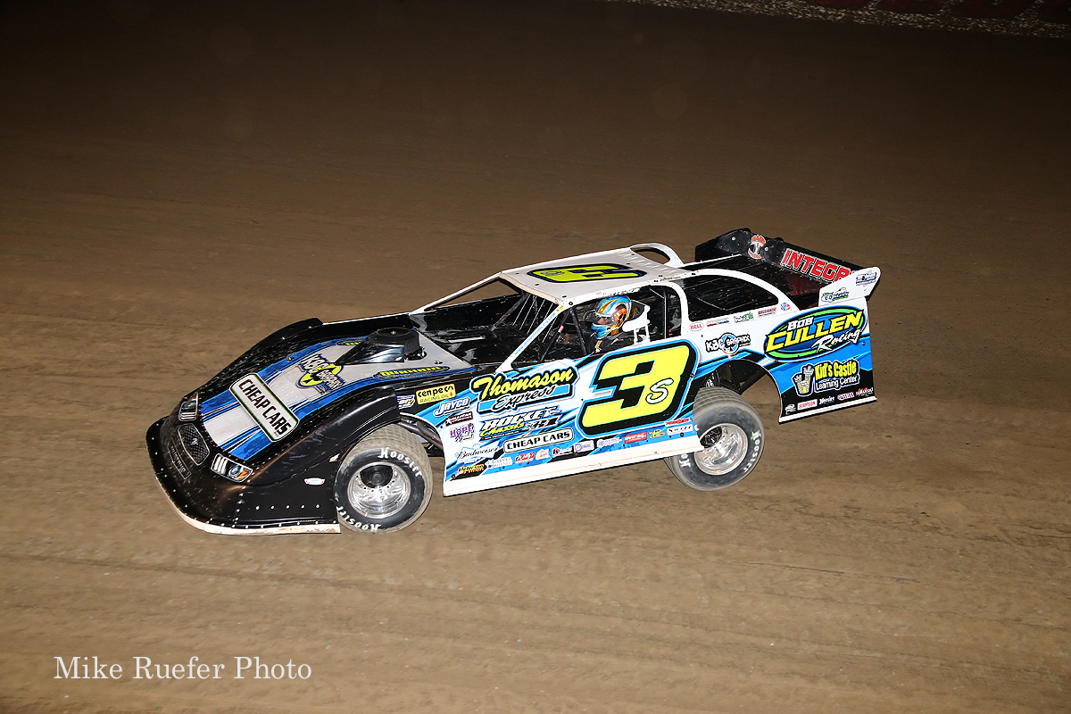 Brian Shirley in the World 100 at Eldora Speedway