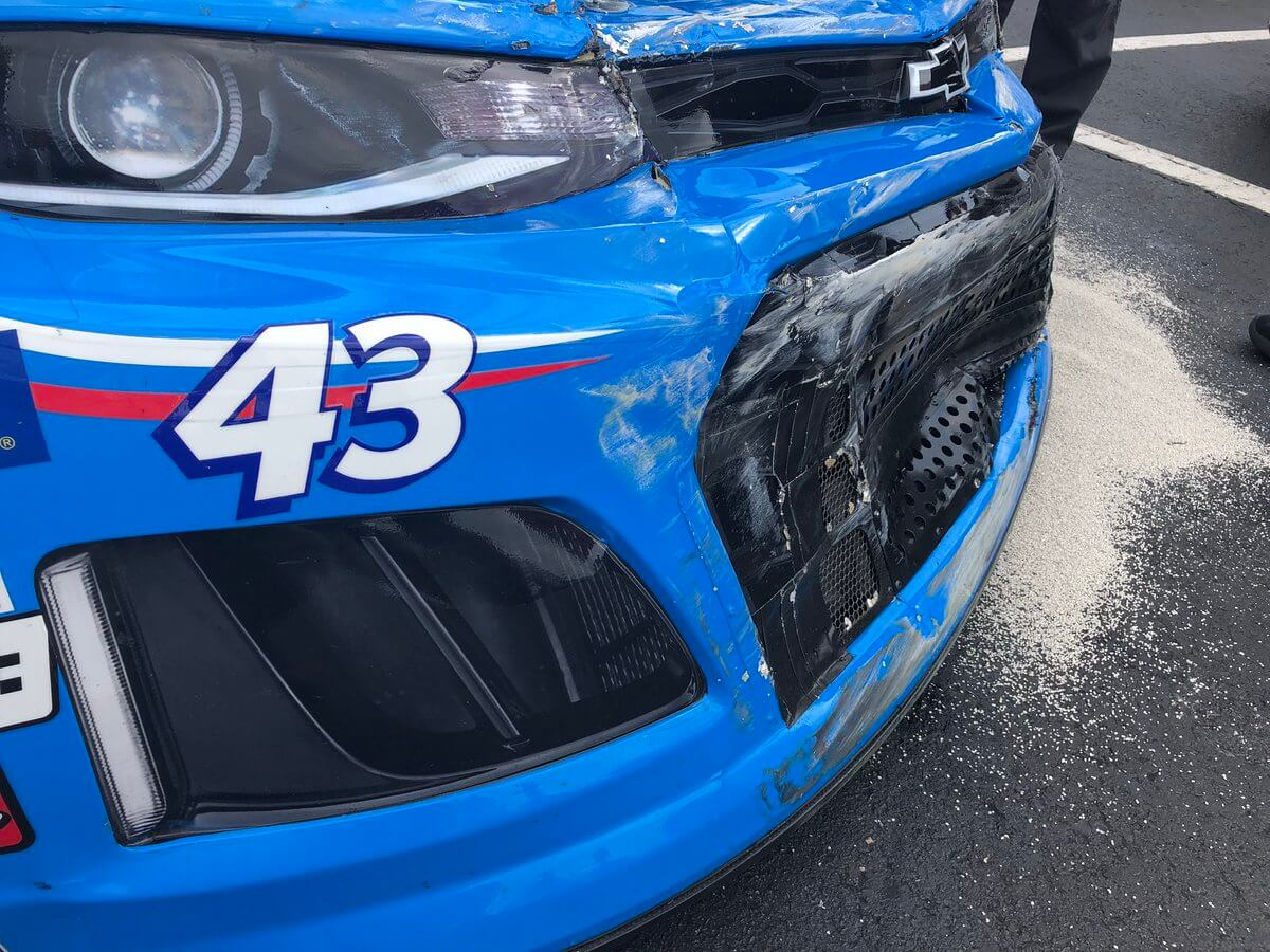 Bubba Wallace - Charlotte Roval Crash