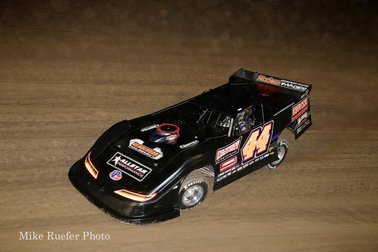 Chris Madden in the World 100 at Eldora Speedway