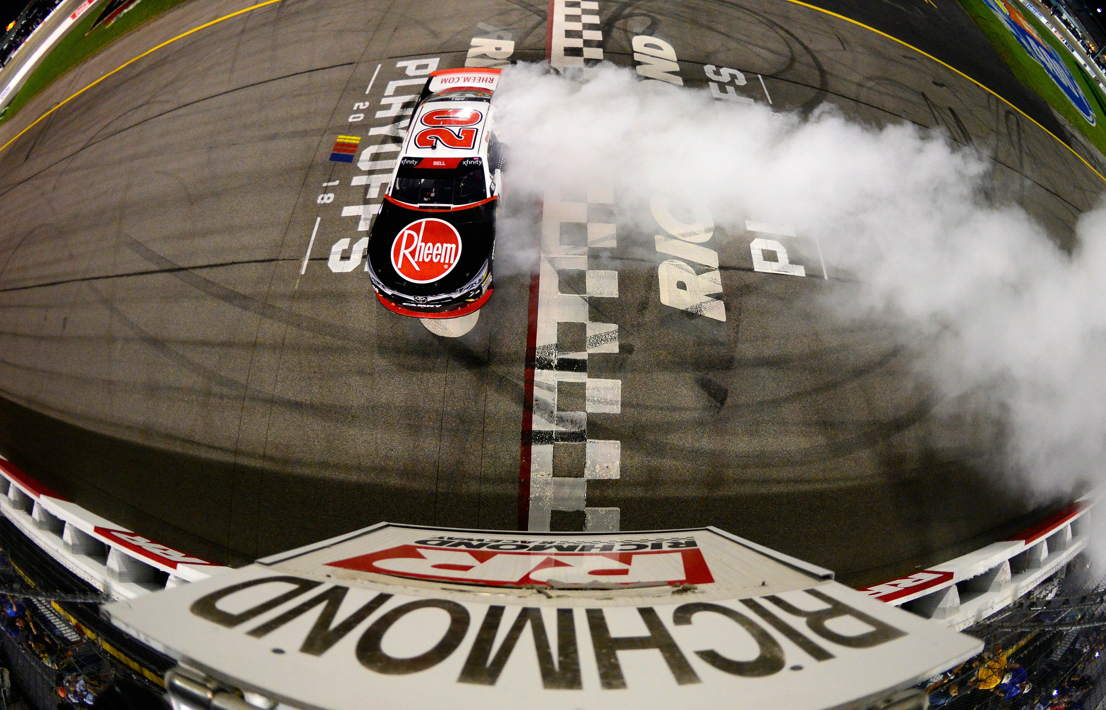 Christopher Bell wins the NASCAR Xfinity Series race at Richmond Raceway