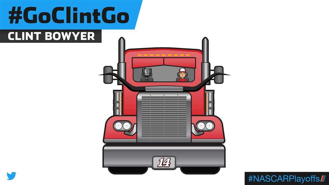 Clint Bowyer emoji - GoClintGo