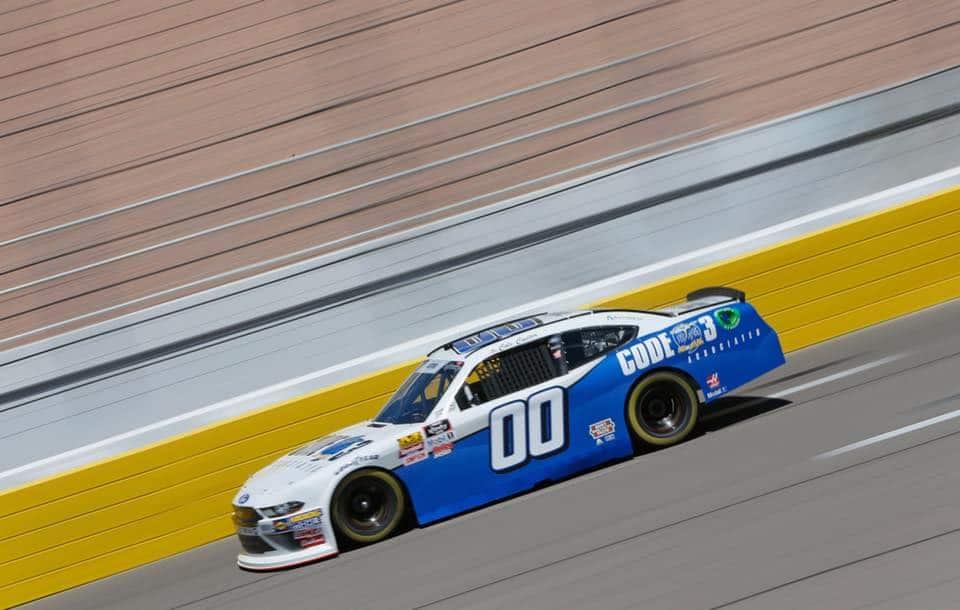 Cole Custer at Las Vegas Motor Speedway - NASCAR Xfinity Series