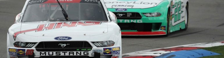 Charlotte Roval Xfinity Practice Results: September 28, 2018