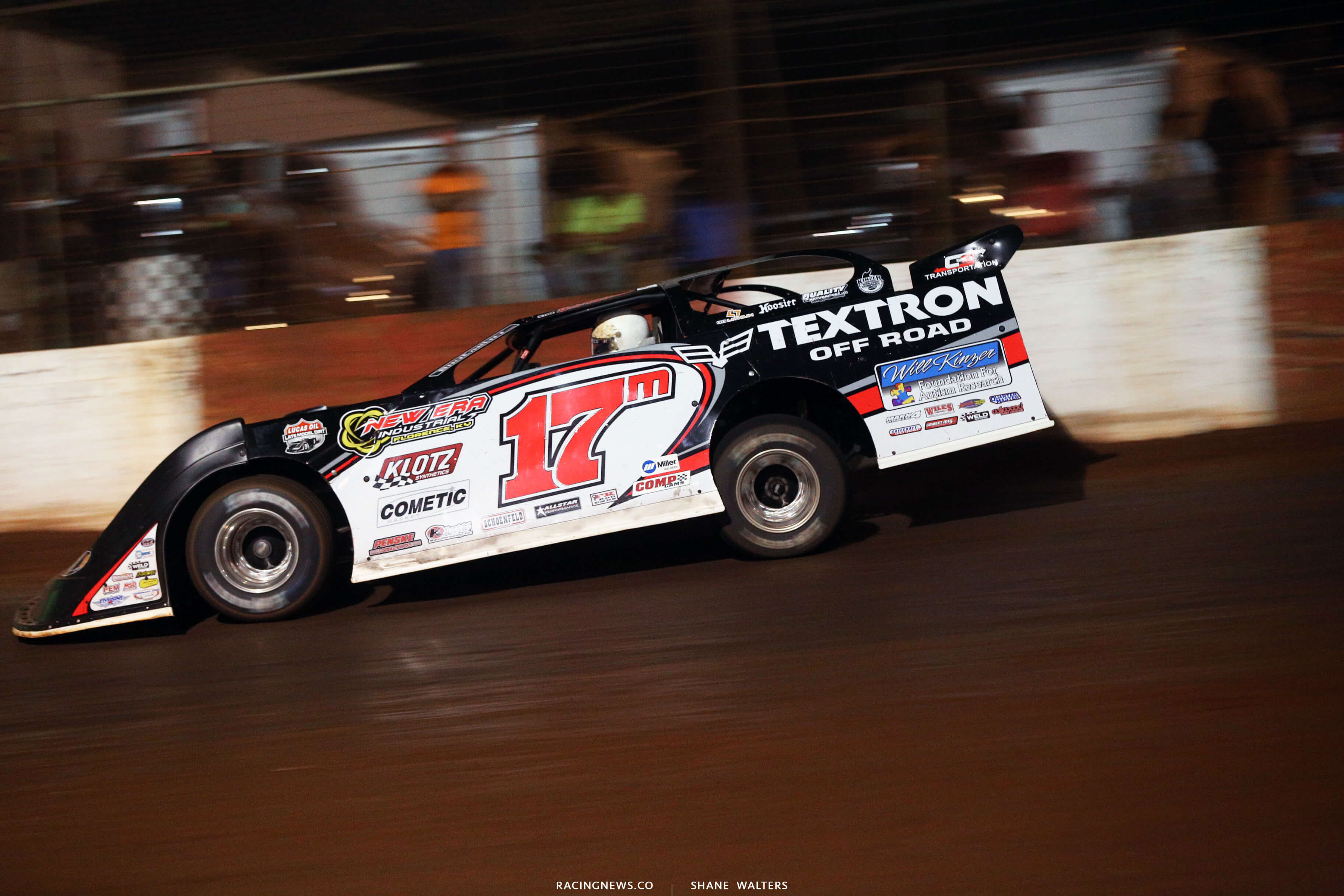 Dale McDowell at Dixie Speedway 0783